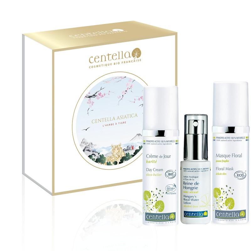 Coffret Hydratation et Eclat Centella Bio